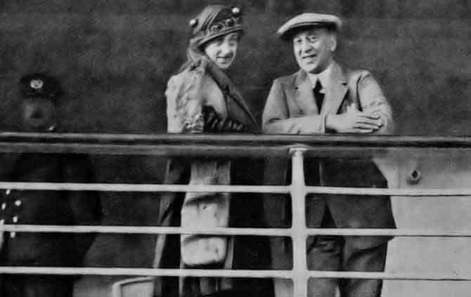 Louis Couperus en echtgenote